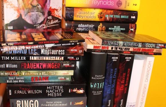 [BOOKS]: Bücher die auf Rezension warten – eine Auswahl