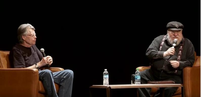 [KURZFILM – TALK]: Stephen King und George R.R. Martin