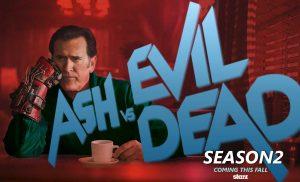 Poster: Ash v.s Evil Dead Season 2