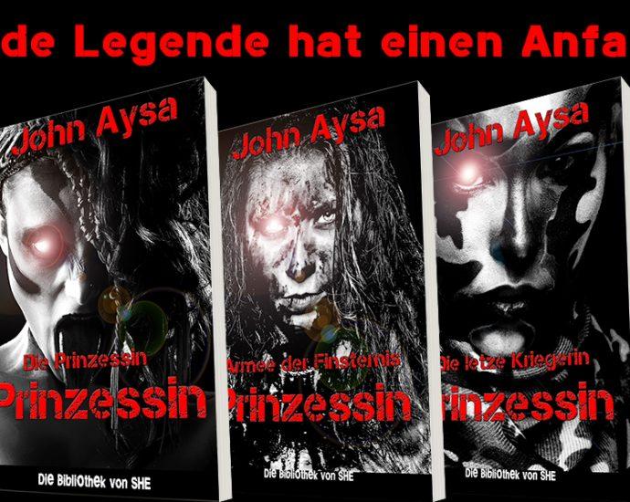 Cover: Prinzessin-Trilogie