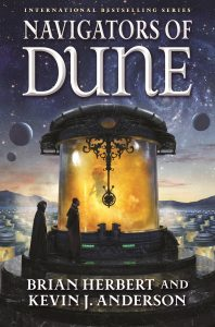 Cover: Herbert/Anderson: Navigators of Dune