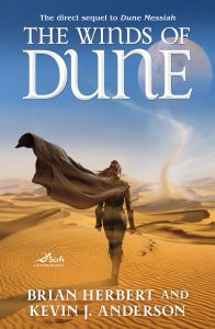 Cover: Herbert/Anderson: The Winds of Dune