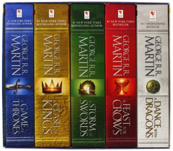 Cover Buchbox Game of Thrones englisch
