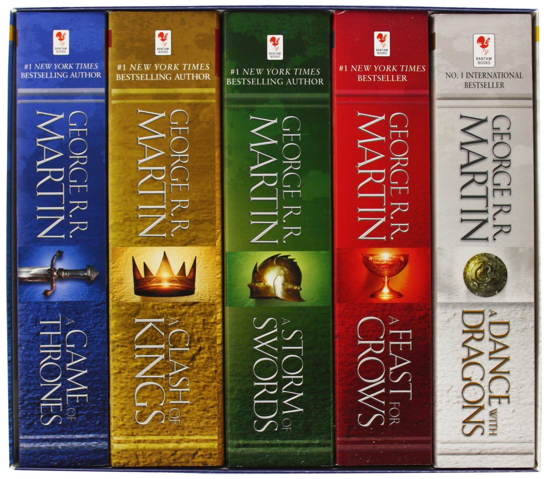 Game Of Thrones Bücher Deutsch Box