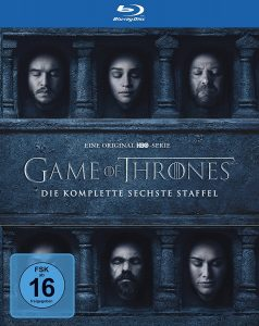 Cover BluRay Game of Thrones Season 6