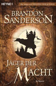 Cover: Sanderson - Jäger der Macht