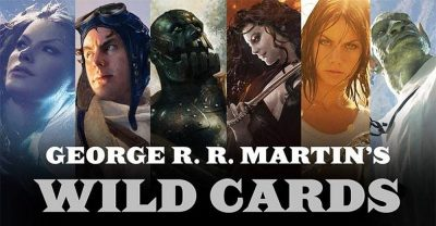 Banner: Tor Verlag - George R.R. Martin - Wild Cards