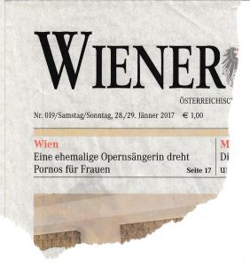 Ausschnitt Printausgabe Wiener Zeitung