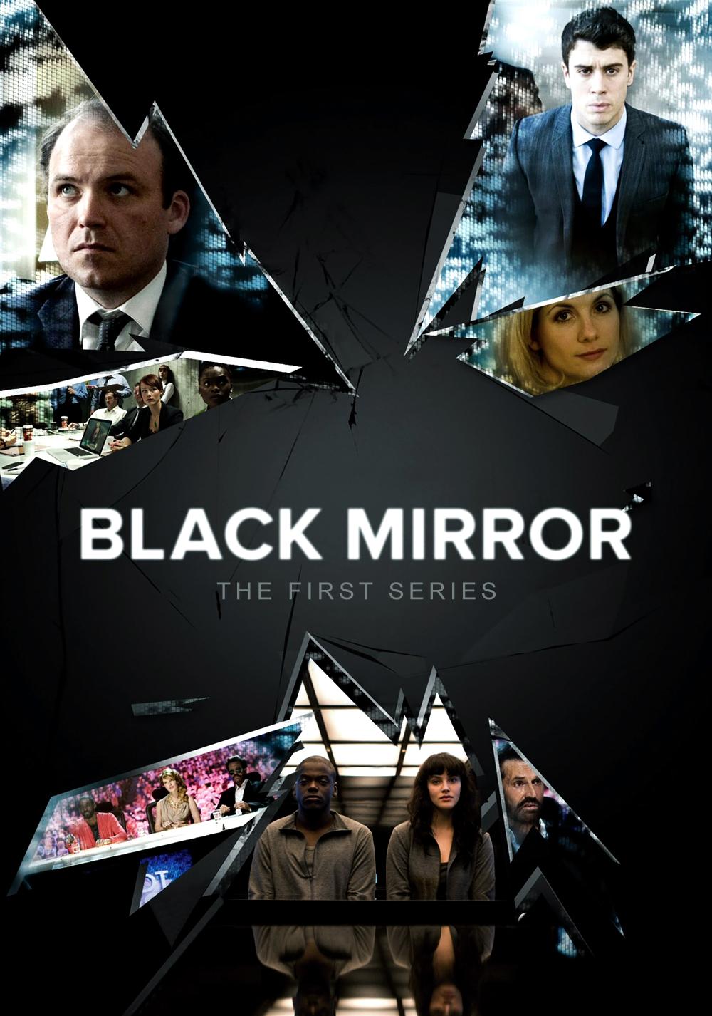 Bildergebnis für black mirror serie plakat