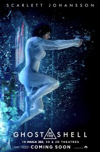 Film-Poster: Ghost in the Shell - Imax