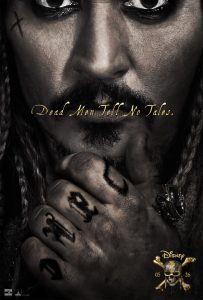 Movie Poster: Pirates of the Caribbean 5