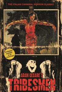 Cover: Adam Cesare: Tribesmen - originales Deadite Cover