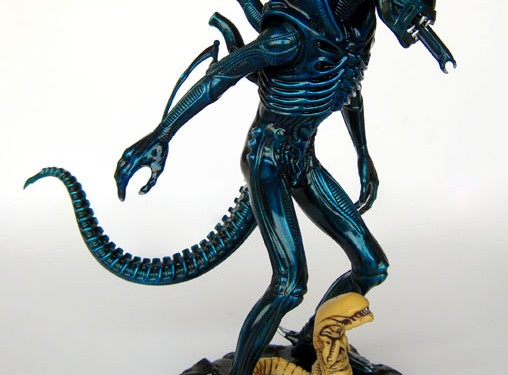 [COOL SHIT]: Aliens – Blue Xenomorph (todschick)