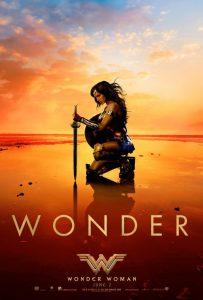 PosteR: Wonder Woman - kneel