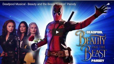 Screenshot: Deadpool Musical Fanfilm