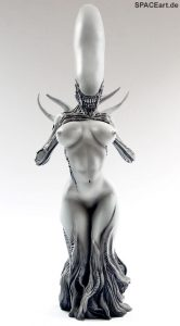 SpaceArt: Female Alien - Front