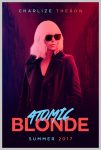 Movie: Atomic Blonde Poster Color