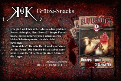 Leseprobe Blutgrütze 4 - Andreas Laufhütte