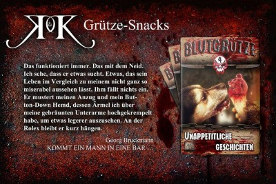 Leseprobe Blutgrütze 4 - Georg Bruckmann