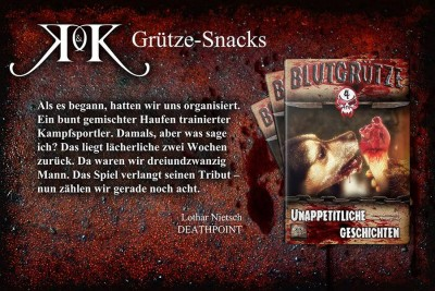 Leseprobe Blutgrütze 4 - Lothar Nietsch