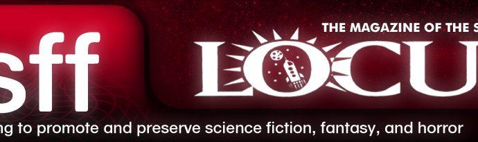 Logo Locus Foundation / Locus Magazine