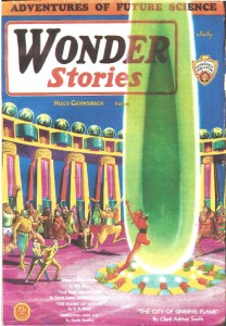 Cover: Wonder Stories - CAS