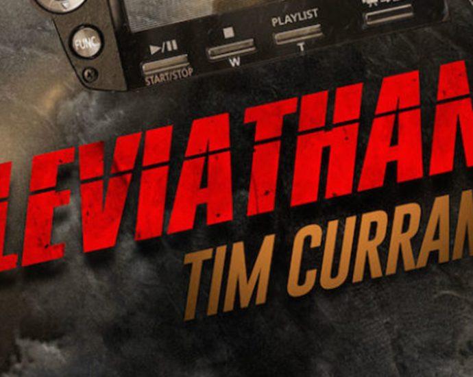 Ausschnitt: Cover Luzifer: Tim Curran: Leviathan