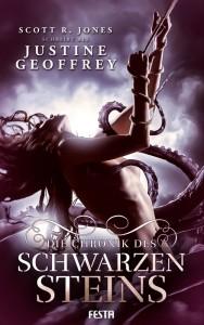 Cover: Justine Geoffrey: Chronik d. schwazen Steins