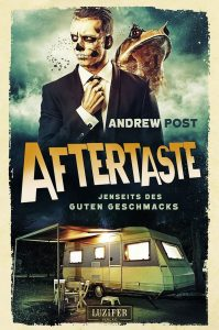 Cover Luzifer: Andrew Post: Aftertaste
