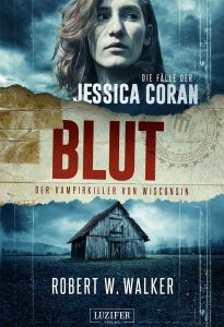 Cover Lutifer: Robert W. Walker: Blut