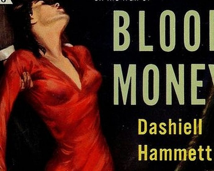 Bildausschnitt Cover: Hammett: Blood Money