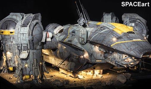 [COOL SHIT]: USCSS Prometheus – Modell der Sonderklasse …