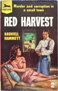 Cover: Dashiel Hammett: Red Harvest