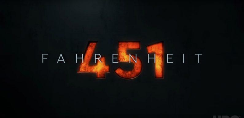 [TRAILER]: Fahrenheit 451 (Neuverfilmung des Klassikers)
