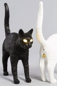 Studio Job: Felix Cat Lamp