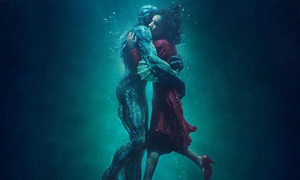 Ausschnitt Poster: The Shape of Water