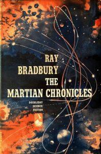 Cover: Ray Bradbury: Martian Chronicles - Bantam HC