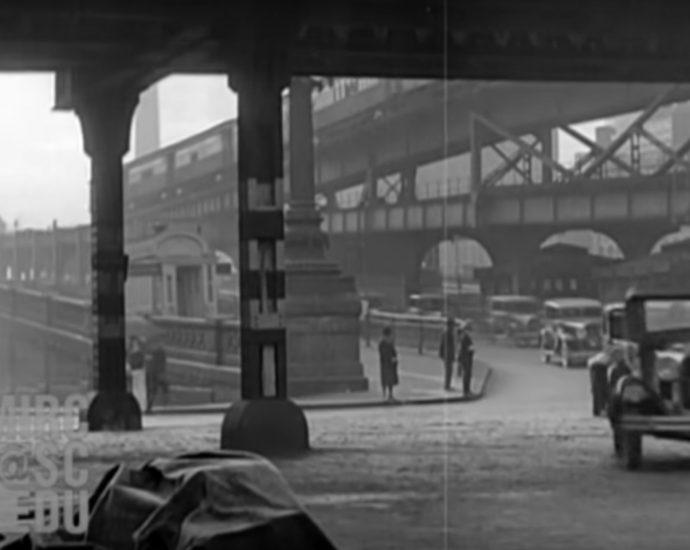 Screnshot: Tonfilmaufnahmen von 1929