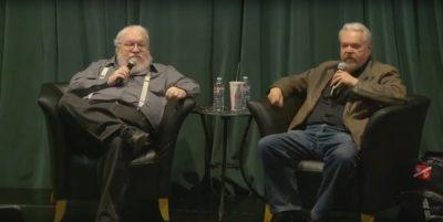 Screenshot: George R.R. Martin interviewt Walter Jon Williams