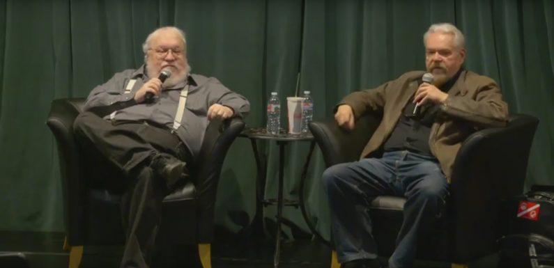 [VIDEO]: George R.R. Martin interviewt Walter Jon Williams
