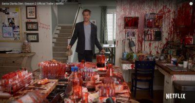 Screenshot: Santa Clarita Diet - Trailer