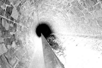 Eigenes Foto: Tunnelblick invertiert