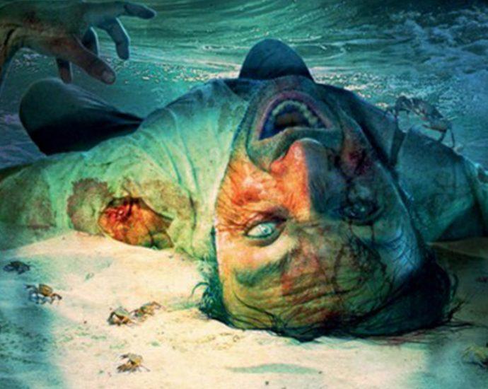 Ausschnitt: Cover Festa: Tim Curran: Dead Sea