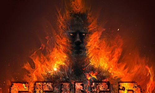 Ausschnitt: Cover Festa: Tim Curran: Feuertod