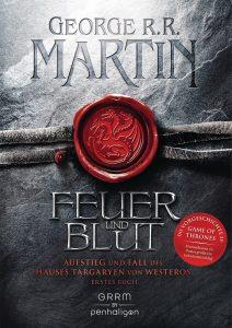 Cover: George RR Martin - Feuer und Blut (DE)