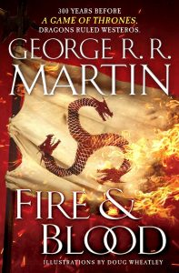 Cover: George RR Martin - Fire and Blood (US)