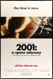 Movie Poster: 2001: A Space Odyssee (Re-Release 2001)