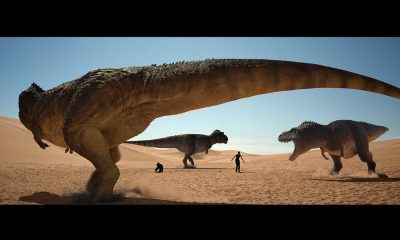 Screenshot: Trailer Jurassic Games