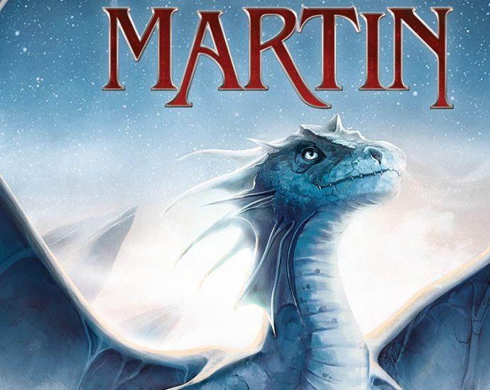 Ausschnitt Cover: George R.r. Martin: Das Lied des Eisdrachen