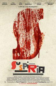 Filmposter: Suspiria (Remake 2018)